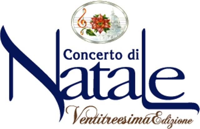 IL 12 DICEMBRE ALL'AUDITORIUM CONCILIAZIONE DI ROMA LA 23ª EDIZIONE DEL CONCERTO DI NATALE. ANCHE SU CANALE 5 E RTL 102.5