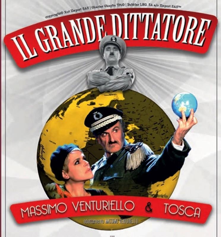 """AL TEATRO CARCANO DI MILANO """"IL GRANDE DITTATORE"""" DIVENTA COMMEDIA MUSICALE"""