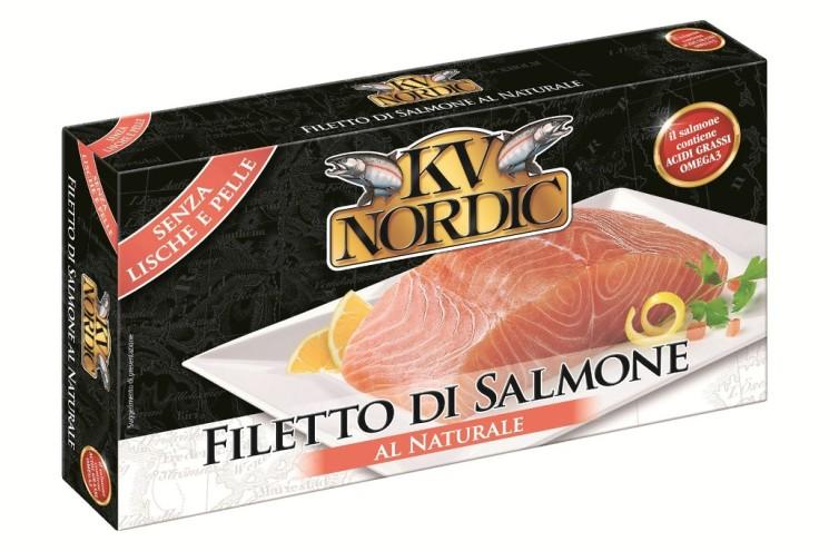 FILETTO DI SALMONE KV NORDIC E IL PRANZO È SERVITO!