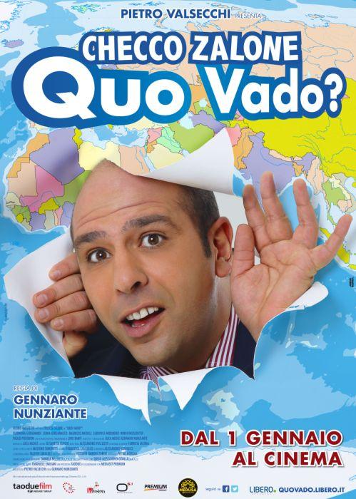 """""""QUO VADO?"""", UN FILM DIVERTENTISSIMO E UNICO CON CHECCO ZALONE"""