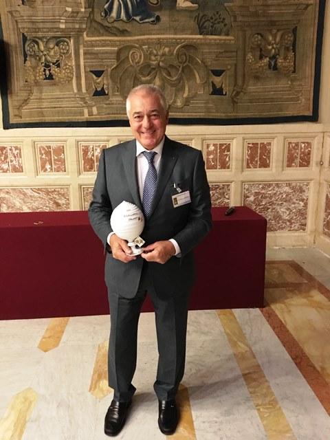 """A PALAZZETTI  IL PREMIO """"100 ECCELLENZE ITALIANE"""""""