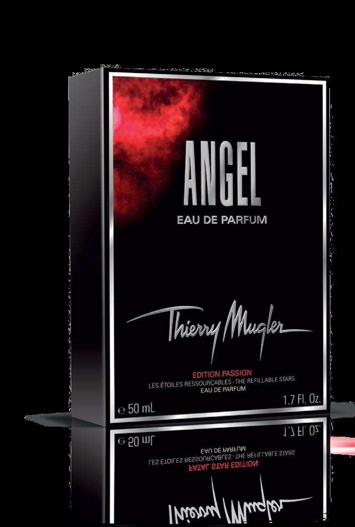 ANGEL EDITION PASSION: ABITO ROSSO, SCINTILLANTE E GLAMOUR IN EDIZIONE LIMITATA