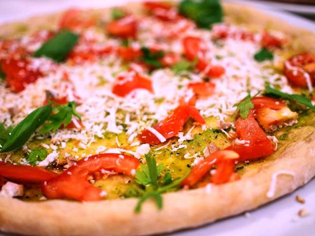 IN FORMA CON LA PIZZA