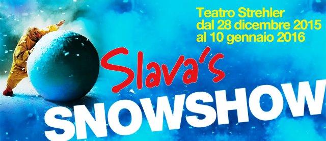 SLAVA'S SNOWSHOW, CAPOLAVORO UNICO E IMPERDIBILE AL PICCOLO DI MILANO DAL 28 DICEMBRE AL 10 GENNAIO
