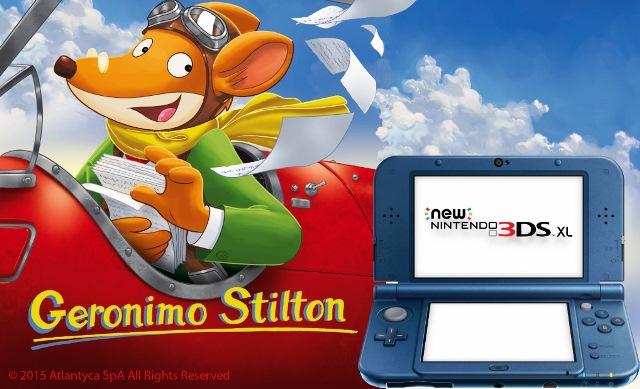 GERONIMO STILTON E TEA SISTERS PROTAGONISTI DEI NUOVI TEMI PER NINTENDO 3DS