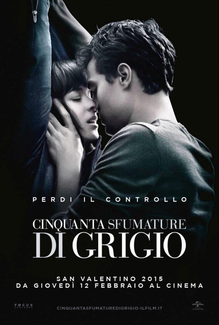 """LUNEDÌ 25 GENNAIO SU CANALE 5 """"50 SFUMATURE DI GRIGIO"""", IL FILM CAMPIONE D'INCASSI NEL 2015"""