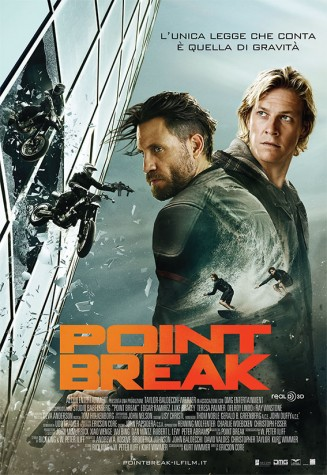 """Point break"", action thriller concentrato di pura adrenalina"