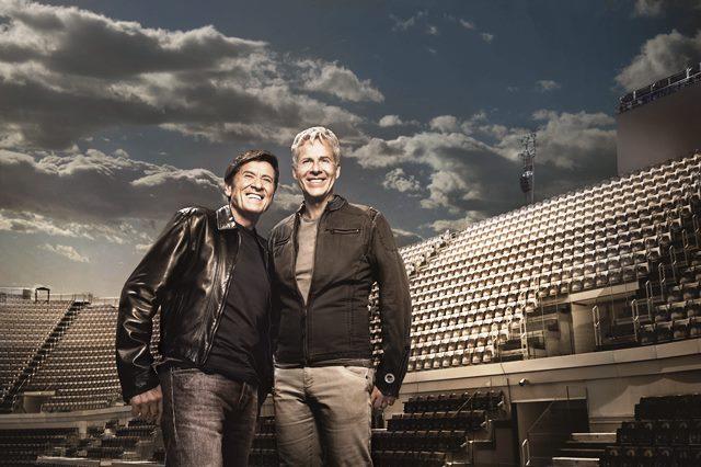 """CLAUDIO BAGLIONI E GIANNI MORANDI INSIEME IN """"CAPITANI CORAGGIOSI IL TOUR"""""""
