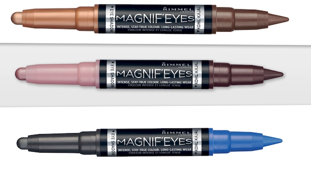 RIMMEL LONDON: NEW MAGNIF'EYES DUO OMBRETTO E KAJAL EYELINER PER UNO SGUARDO DA STAR
