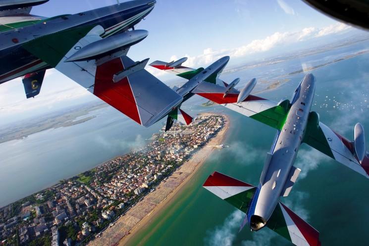 Visite guidate alla base aeronautica delle Frecce Tricolori (Rivolto, Udine)