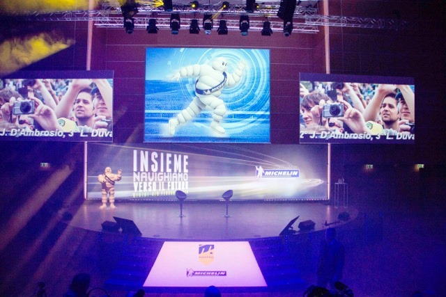 Organizzato da Alessandro Rosso Group il primo evento collettivo Michelin Mastro
