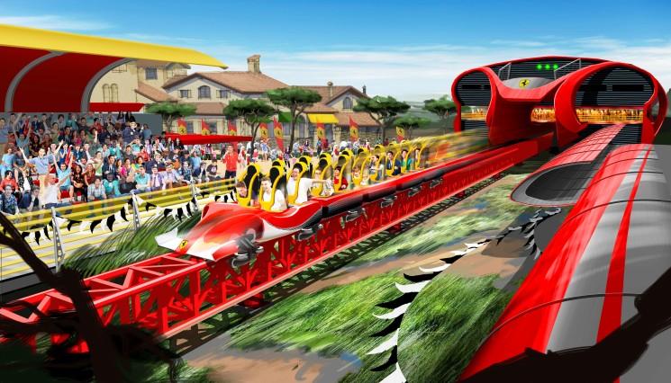 A BIT2016 PortAventura World Parks & Resort presenta Ferrari Land