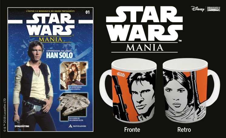 Star Wars Mania con Tv Sorrisi e Canzoni, Panorama e Focus