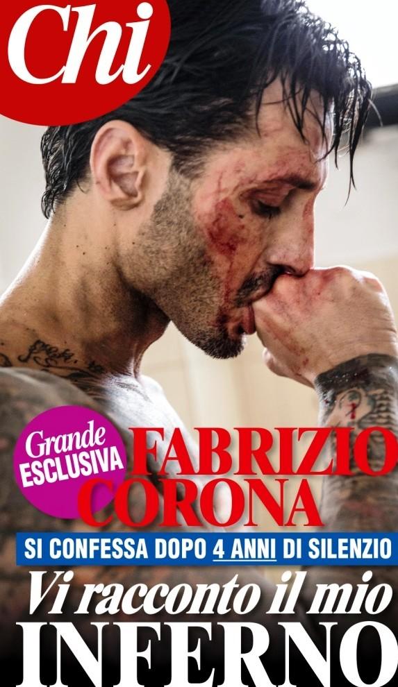 """Intervista esclusiva di """"Chi"""" a Fabrizio Corona"""