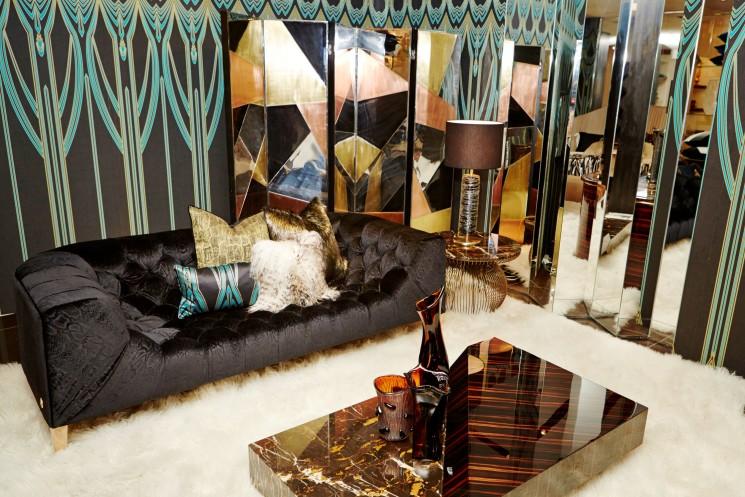 Presentata la nuova collezione Roberto Cavalli Home in occasione del Fuorisalone