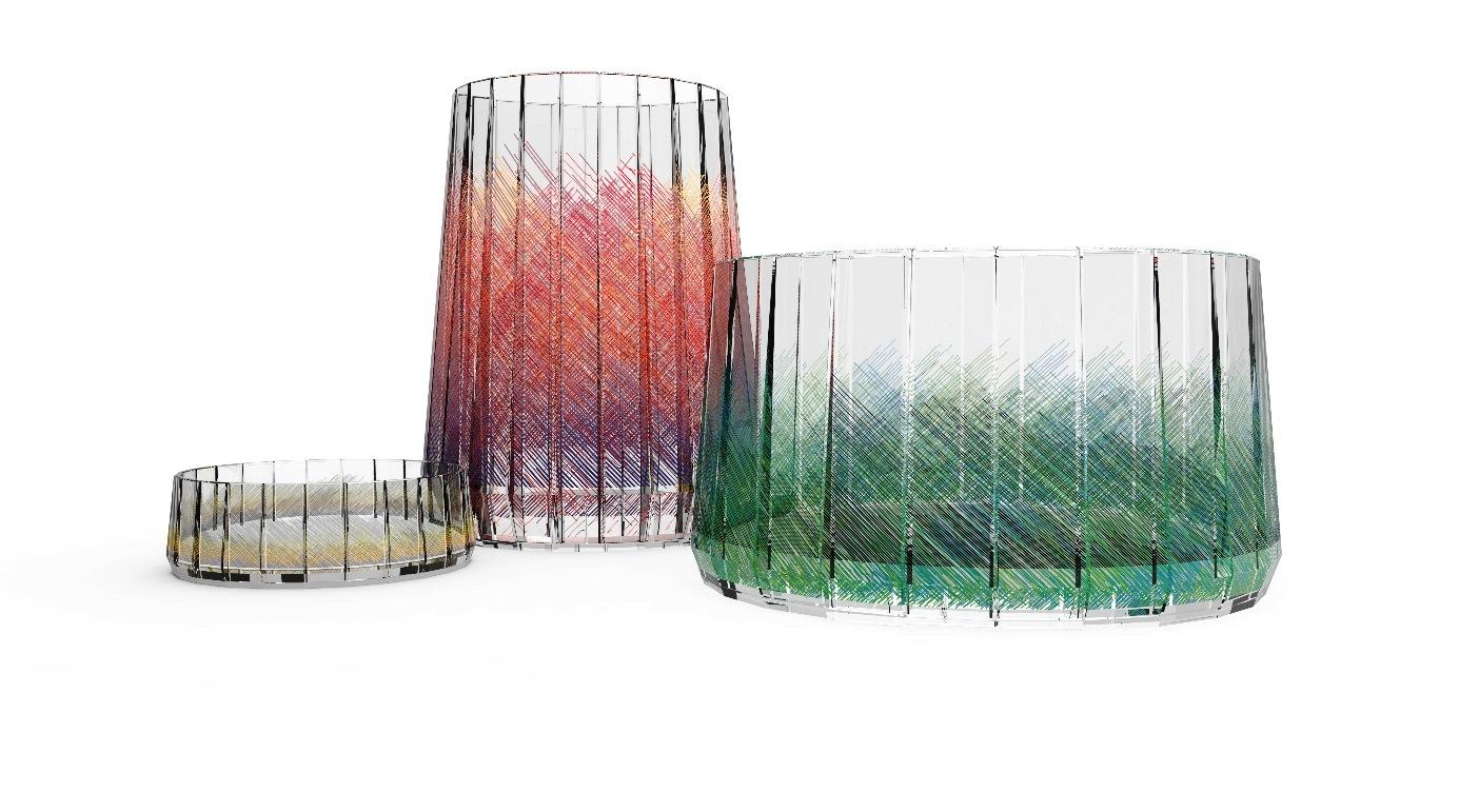Debutto di atelier swarovski home collezione di accessori for Accessori di design per la casa