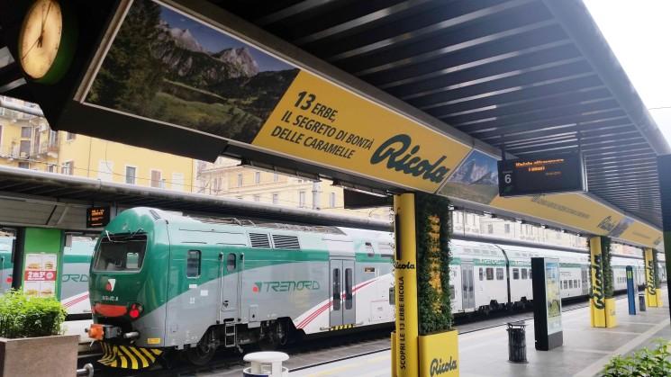 Con Ricola un suggestivo giardino verticale alla stazione Cadorna di Milano