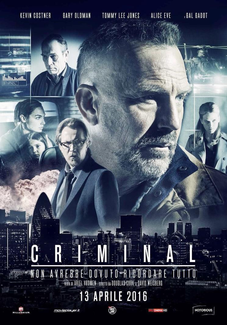 """""""Criminal"""", una sci-fi di spionaggio incalzante e avvincente"""