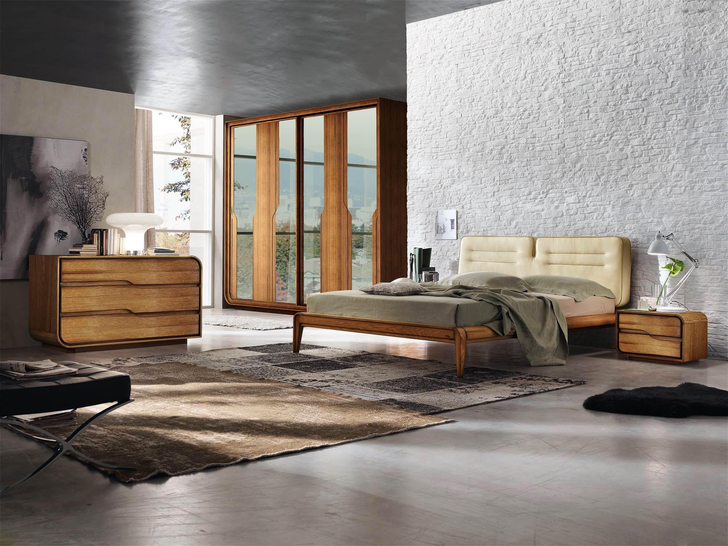 Camera da letto legno massello vs formaldeide - Camere da letto in legno rustico ...