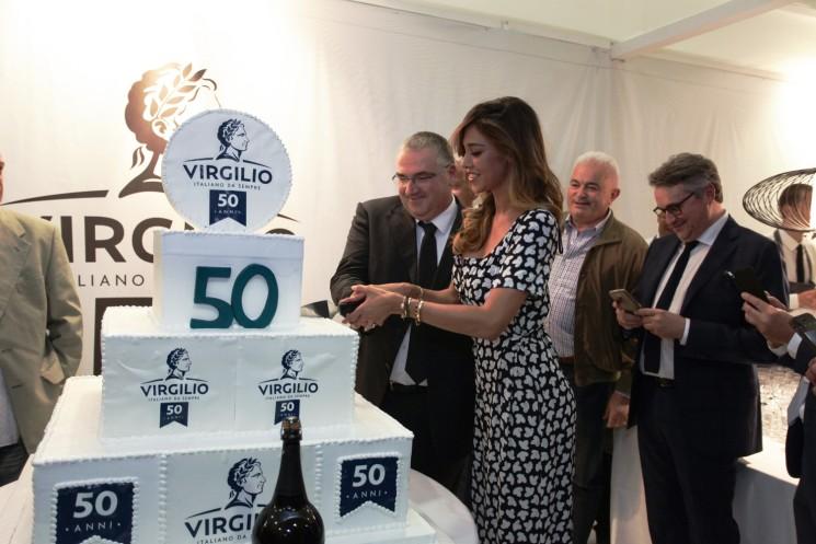 A CIBUS grandi festeggiamenti del Consorzio Virgilio con Belen Rodriguez