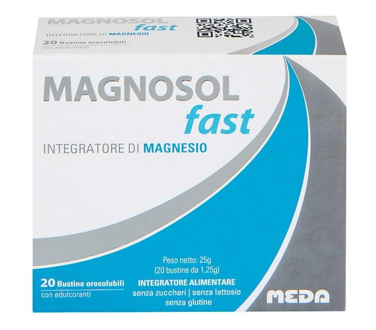 Magnosol Fast per contrastare stanchezza e spossatezza