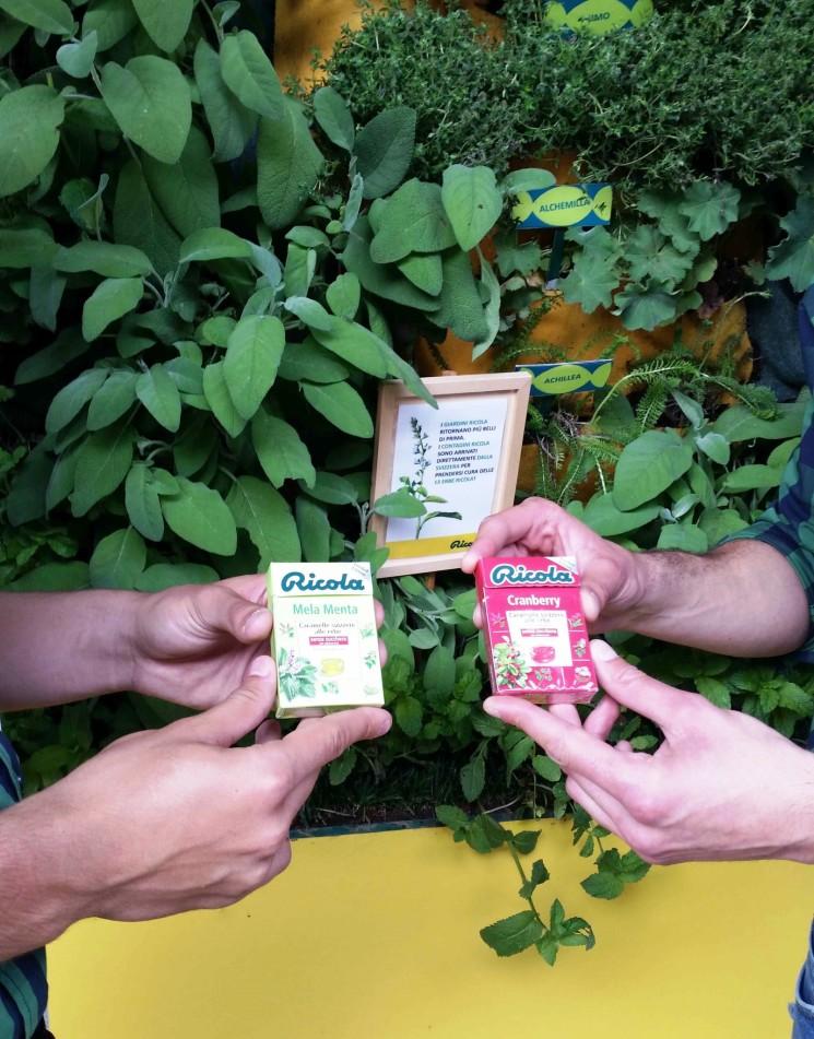 A Milano dalla Svizzera i contadini Ricola si prendono cura delle erbe!