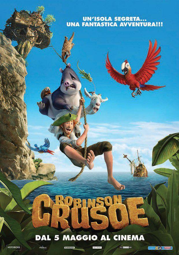 """""""Robinson Crusoe"""", nuova versione animata del celebre naufrago"""