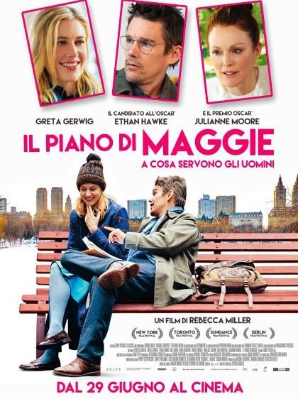 """""""IL PIANO DI MAGGIE. A COSA SERVONO GLI UOMINI"""", COMMEDIA INTIMISTA PIENA DI IRONIA"""