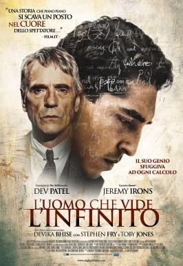 """""""L'uomo che vide l'infinito"""", un film toccante sulla vera storia di un genio indiano della matematica"""