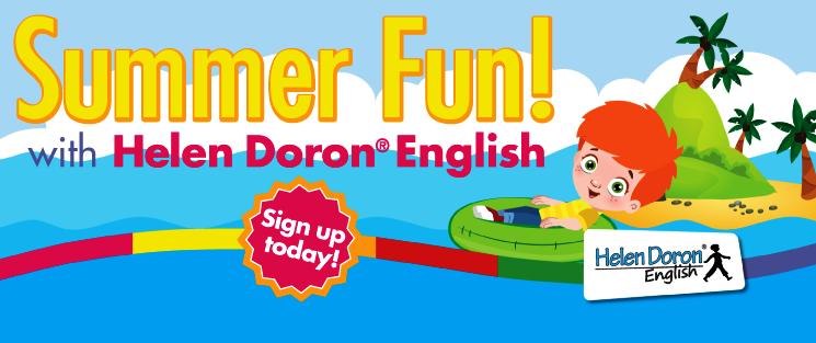 Imparare l'inglese divertendosi ai Summer Camp di Helen Doron English. Per bambini e ragazzi