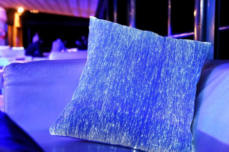 I tessuti luminosi Dreamlux di scena all'Azimut|Benetti Yachting Gala
