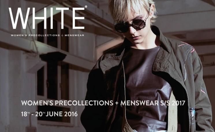 WHITE WOMEN'S PRECOLLECTIONS + MENSWEAR A MILANO DAL 18 AL 20 GIUGNO 2016