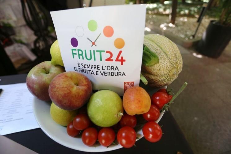 Fruit24 per rilanciare il consumo di frutta e verdura