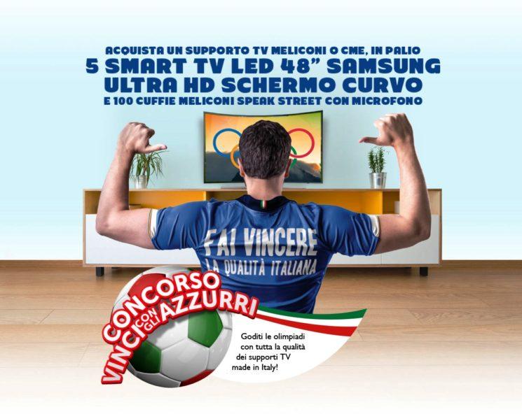 """Grande concorso Meliconi """"VINCI CON GLI AZZURRI"""""""