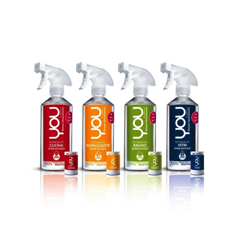 You, rivoluzionaria linea di detergenti per la casa più sani e più efficaci