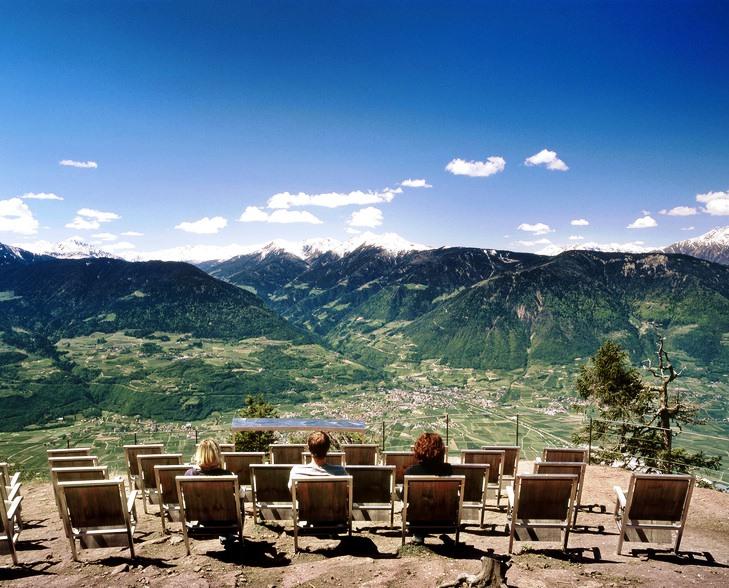 Spettacolare cinema all'aperto in Alto Adige a Lana e dintorni