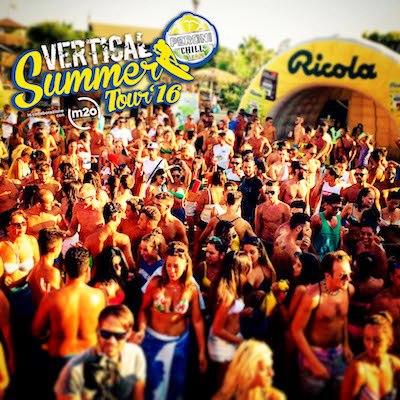 Ricola protagonista al Vertical Summer Tour 2016