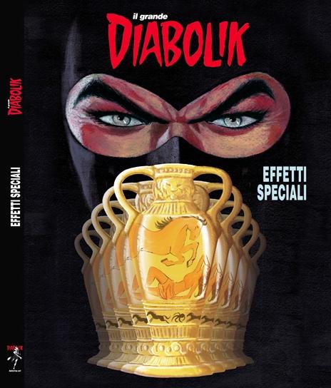In anteprima l'edizione Variant cover dell'albo Effetti Speciali n. 2/2016 della collana Il Grande Diabolik