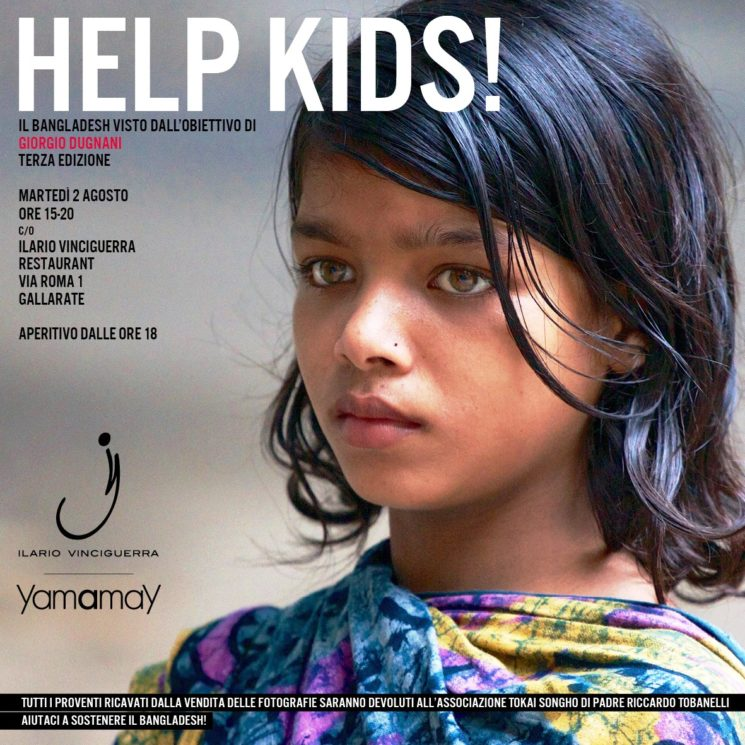 Yamamay presenta Help Kids!, mostra fotografica di beneficienza