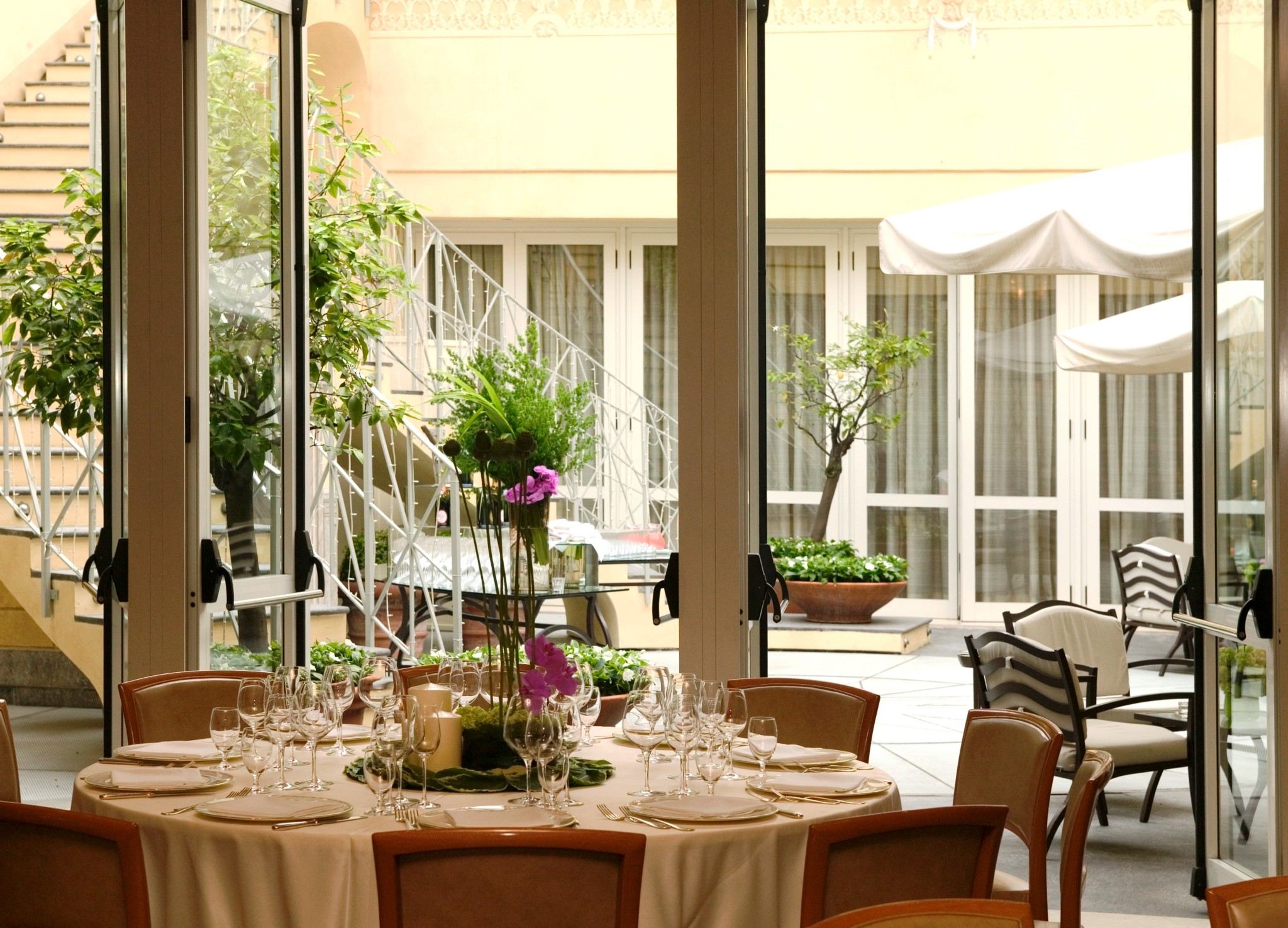 Albergo Sapori Al Four Seasons Hotel Milano Lesclusiva Cena Stradivari Sapori