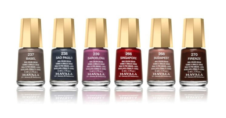 Eclectic Color's di Mavala: smalti per l'autunno