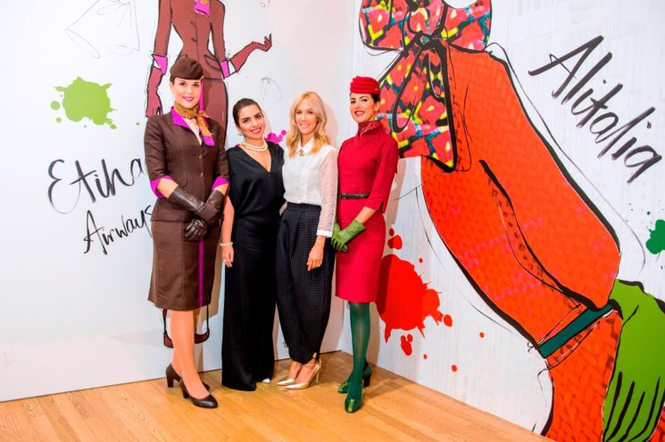 ETIHAD AIRWAYS E ALITALIA ALLA FASHION WEEK DI MILANO