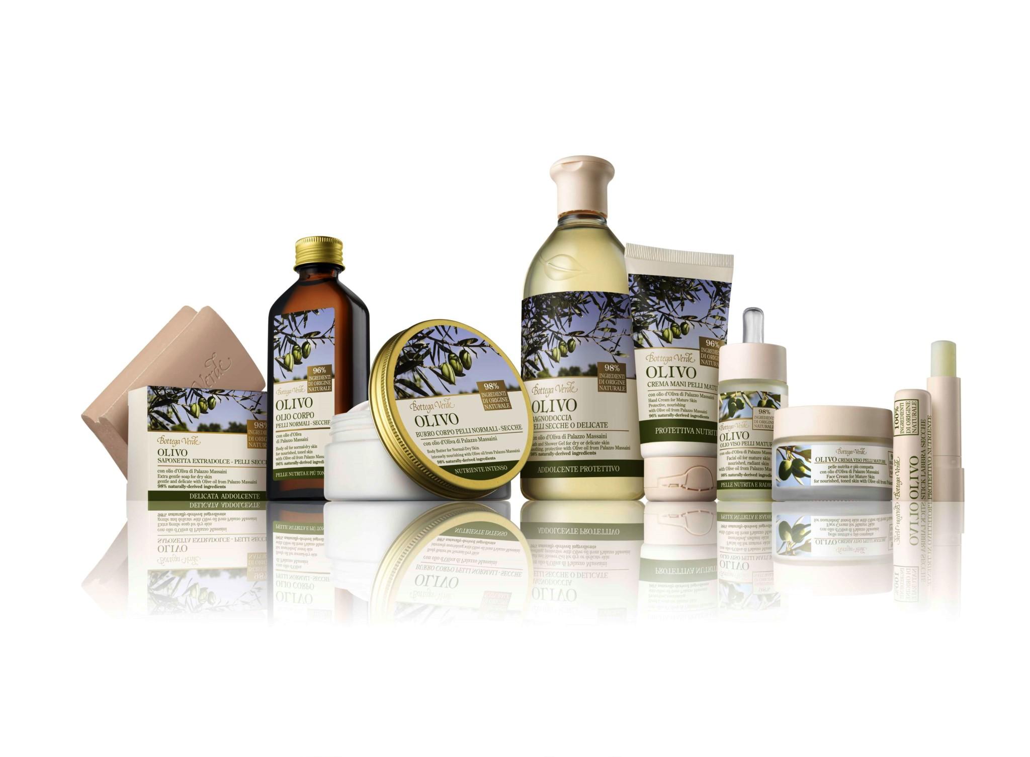 Bagno Doccia Bottega Verde : Bottega verde nasce olivo con olio d oliva di palazzo massaini