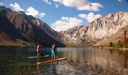 Pesca, Kayak e SUP: divertirsi sui laghi di Mammoth Lakes