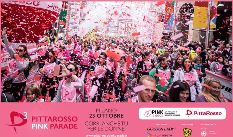 Con PittaRosso la camminata rosa il 23 ottobre a Milano
