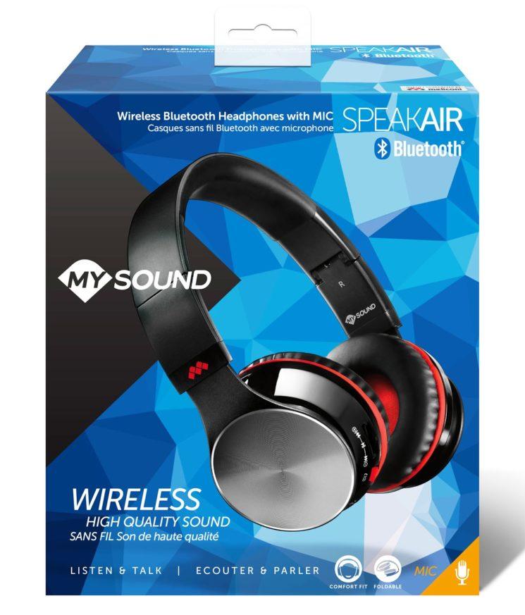 Le cuffie Bluetooth Speak Air di MySound: massime prestazioni, design ricercato