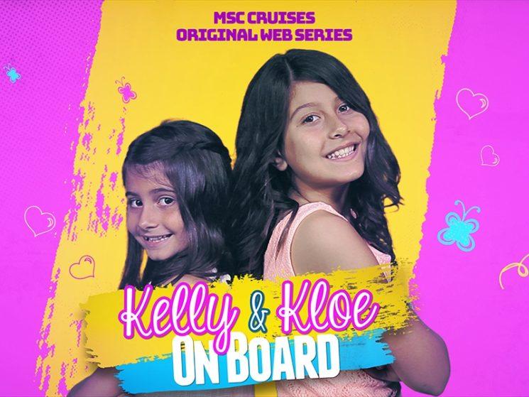 """MSC Crociere arricchisce l'intrattenimento per le famiglie. Parte """"Kelly & Kloe on board"""""""