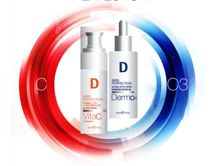 Dermophisiologique – Linea Skin Perfection: VitaC e DermO3