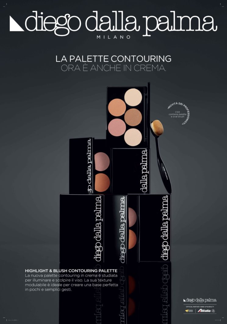 Diego dalla palma milano: Highlight & Blush Contour Palette per un effetto glowing