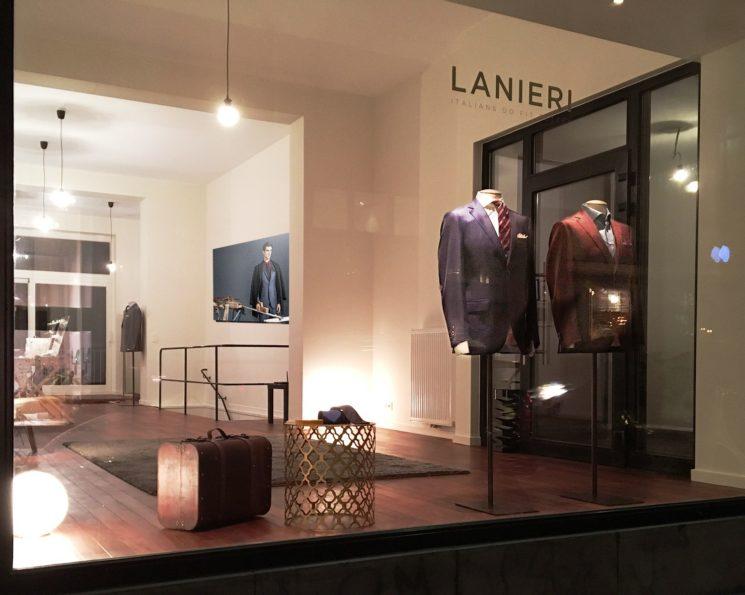 Nuovo atelier Lanieri a Bruxelles
